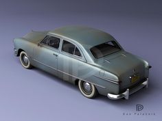 A Garagem Digital de Dan Palatnik | The Digital Garage Project: Patina! 1950 Ford Custom Tudor