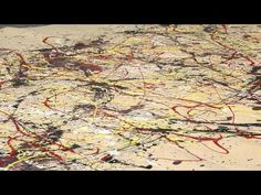 Jackson Pollock: One: Number 31, 1950. More interesting video for Pollock