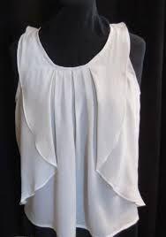 Resultado de imagen para blusa con volados en las mangas patron