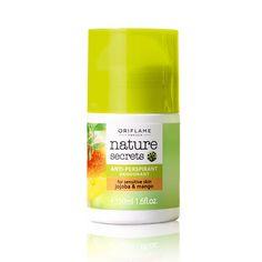Nature Secrets Anti-perspirant Deodorant for Sensitive Skin Jojoba & Mango #oriflame