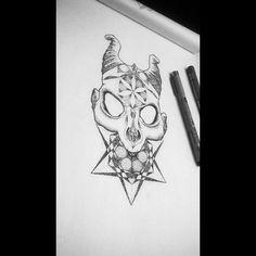 #skull #horn #mandala #darkness  #drawing #tattoo #design  #darkart #blackart #blacktattoo  #geometrictattoo #micronpen #art  #blackwork  #figure #dotwork #dotworktattoo  #tattoedgirl #womantattoo #lineart #linework #lineworktattoo #work #in #progress #wip #beardedman