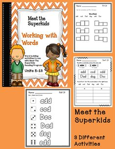 Superkids Club Literacy Centers for Kindergarten 6th Grade Worksheets, Math Practice Worksheets, Kindergarten Literacy, Literacy Centers, Teaching Main Idea, Student Teaching, Teaching Ideas, Guided Reading Lessons, Reading Practice