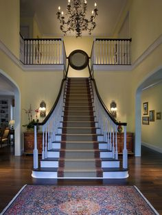 Architectural And Interior Photography, Traditional Staircase, Miami
