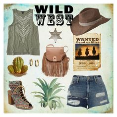 """""""Wild West"""" by pamphil ❤ liked on Polyvore featuring Aéropostale, mi.im, River Island, Botkier, Indigo Wild, Outdoor Research and The Bradford Exchange"""