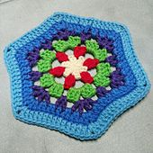 Ravelry: Mizuh0's Hexagonal Throw