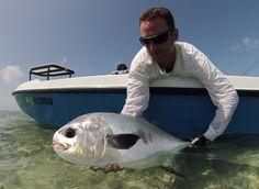 d695c5bd6c1 Bobby Vaughn Permit fishing in Flying Fisherman Morocco s in Matte Black  Amber Men s