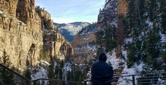 near the top of Hanging Lake trail Glenwood Canyon Colorado #hiking #camping #outdoors #nature #travel #backpacking #adventure #marmot #outdoor #mountains #photography