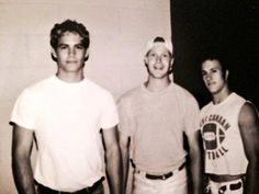 Paul Walker, scott caan, and friend