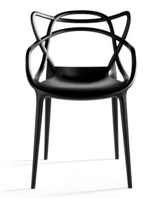 """Masters"" chair from Kartell and the designer Philippe Starck"