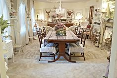 Penny's Vintage Home: A New Look in the Dining Room for Spring