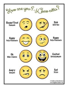 Emotions - Spanish & English