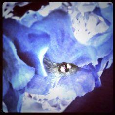 Something Blue Wedding Bridal White Flip Flops One of by fancyflop, $39.00
