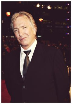 Alan Rickman was delectable because he appealed to the mind first...then the ears...and then the eyes, possibly followed by the heart.