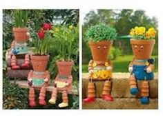 Simple Clay Pot People - Bing Images