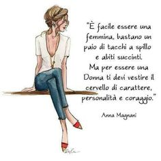 Store photos and docs online. Create and work together on Word, Excel or PowerPoint documents. Italian Phrases, Italian Quotes, Anna Magnani, Womens Day Quotes, Silent Words, Words Quotes, Sayings, Magic Words, Love Your Life