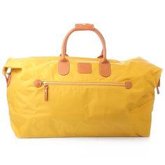 BRIC'S Weekender: X-Travel Holdall Yellow — Fashionette.de