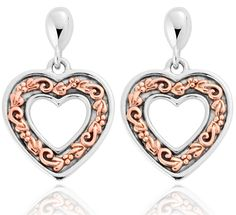 Clogau Earrings One Drop Stud Silver | C W Sellors Fine Jewellery and Luxury Watches