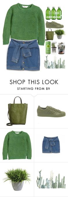"""The future scares me."" by melaningaloree on Polyvore featuring Michino, adidas, DKNY, Ethan Allen, women's clothing, women, female, woman, misses and juniors"