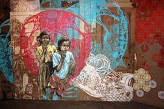 Swoon - Street Art - Artists Inspire Artists