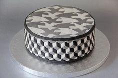Escher cake
