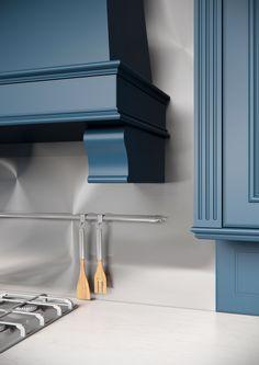 Каталог кухонь | BRISTOL BLUE | Кухни VIRS Bristol, Shelves, Kitchen, Blue, Home Decor, Shelving, Cooking, Homemade Home Decor, Decoration Home