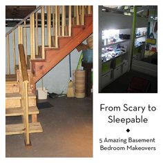 5 basement bedrooms that went from spooky to spectacular!