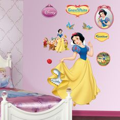 Snow White Wall Decal at AllPosters.com