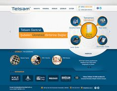 "Check out new work on my @Behance portfolio: ""Silüet Tanıtım Web Tasarım 