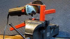 PATENT PENDING This is by far the most used tool in my work shop. It's easy to make with just a few pieces of scrap metal and diversifies the use of any Angl...