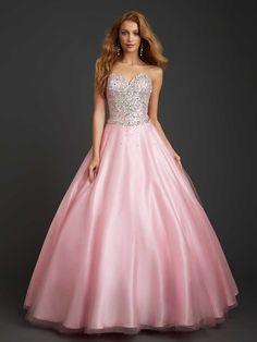 Vestidos de quinceañera color rosa fiusha Allure Bridal