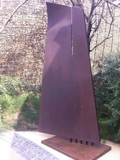 Sail. Rusted Steel. Mark L Swart. #marklswartsculpture Steel Sculpture, Heavy Metal, Sailing, Sculptures, Awesome, Artist, Design, Corten Steel, Candle