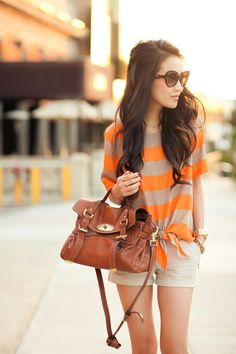 Bright and simple outfit