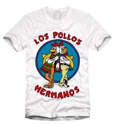 Los Pollos Hermanos - Breaking Bad White T-Shirt: Amazon.co.uk: Clothing ($1-20) - Svpply