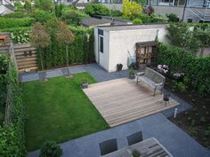 1000 images about tuin on pinterest met google and for Tuinaanleg modern
