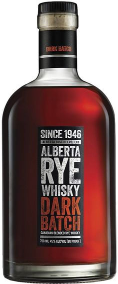 This unique Canadian whisky, which won Double Gold at the 2015 San Francisco World Spirits Competition, is made from 91% rye, 8% bourbon and 1% sherry.