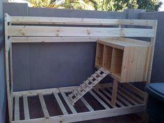 chicken coop from bunk bed (ikea hack)