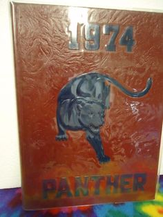1974 Panther Pascagoula High school yearbook Pascagoula, Mississippi unmarked