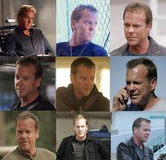 The evolution of Jack Bauer...rough around the edges = hottnessz