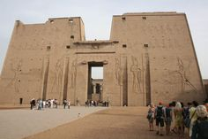 Egypt, Edfu Temple