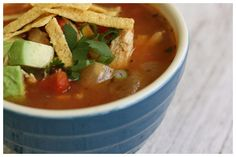i love Chicken Tortilla Soup, will try this one