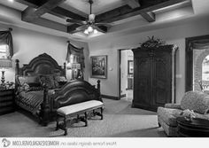 15 Extravagantly Beautiful Tuscan Style Bedrooms http://homedesignlover.com/bedroom-designs/tuscan-style-bedrooms/