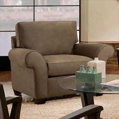 Picture of Contemporary Upholstered Arm Chair