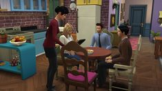 """Friends"" fan recreated the set and characters of the show in Sims 4, along with ""Seinfeld"" and ""Arrested Development."" He made them available for download, too, which I'd totally do if I had Sims 4."
