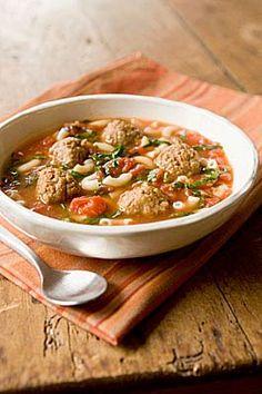 italian wedding soup!