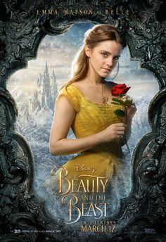 BEAUTY AND THE BEAST movie poster No.5 (Belle / Emma Watson)