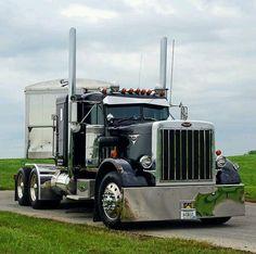 Custom Peterbilt, Peterbilt 359, Peterbilt Trucks, Big Rig Trucks, Semi Trucks, Cool Trucks, Custom Big Rigs, Custom Trucks, Diesel