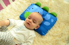Milo & Gabby Dinosaur Pillowcase for Baby - Dylan