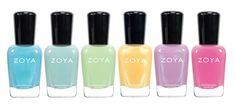 Zoya Delight Spring Nail Polish Collection. #TheHub