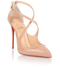 e570c1256e0 Christian Louboutin Crissos Beige Shoes