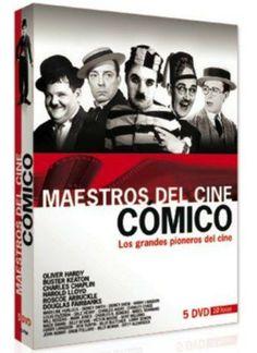 Maestros del cine cómico: los grandes pioneros del cine (1913/1926). EEUU. Comedia. Curtametraxes. - DVD CINE 2138